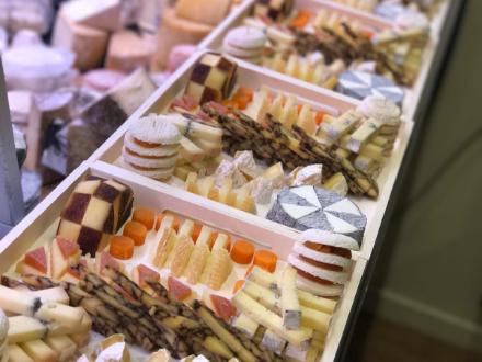 Millésime & Affinage | présentoir fromages