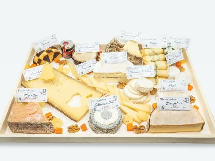 Millésime & Affinage | plateaux de fromages